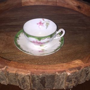 Adorable tea cup w/ plate made in Germany